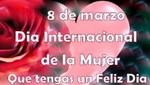 En el Día Internacional de la Mujer