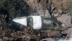 Tarma: Accidente vehicular dejó un policía muerto