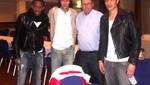 Pizarro, Farfán y Guerrero llegan hoy a Lima con la moral al tope
