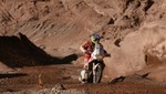 Motociclista peruano Felipe Ríos destaca en el Rally  Dakar 2012