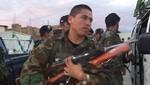 Decomisan material de guerra que iba ser usado por invasores en Lambayeque