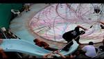Pintura en skate (VIDEO)