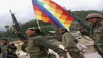 Etnocaceristas y policías se enfrentaron en Plaza de Armas