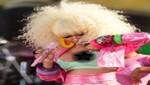 Nicki Minaj deja ver más de la cuenta en un show
