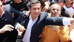 Ollanta Humala lidera homenaje a Miguel Grau