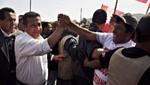Ollanta Humala supervisa labores de reconstrucción en Pisco