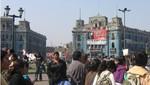 La Gran Marcha Nacional del Agua ya está en Lima