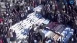 Siria: Ya son 93 los muertos por bombardeos (Video)