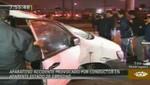 Detienen a chofer que ocasionó accidente en las avenidas Faucett y Argentina