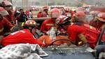 Comandante Alberto Marticorena: 'No quisieron atender a bomberos en hospital Rebagliati'
