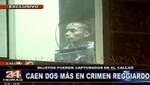 Caso Reggiardo: capturan a dos presuntos implicados en el Callao