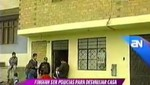 Ate: Ladrones se hicieron pasar por policías