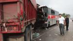 Matucana: dos muertos y 11 heridos deja accidente vehicular
