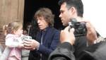 Mick Jagger visitó el Museo Larco de Pueblo Libre