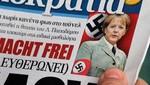 Polémica por diario que publicó foto de Merkel vestida como Nazi