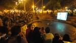 'Cine bajo las estrellas' en el Parque Central de Miraflores