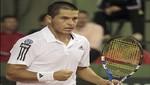 Copa Davis: Beretta no pudo con Cuevas y cayó derrotado 3-0