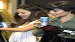 Vanessa Hudgens de compras con su hermana Stella