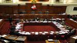 Congreso: Mañana se aprobará cuadro de comisiones extraordinarias