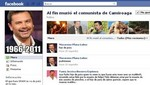 Chile: Grupo de Facebook insulta la memoria de Camiroaga