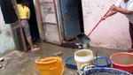 Chorrillos: Inundación tras colapso del canal de regadío