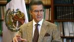 Embajador de México: 'Perú tiene derecho a evaluar la imposición de visa'