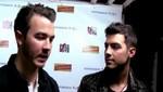 Joe y Kevin Jonas hablan sobre el nuevo álbum de los Jonas Brothers (Video)