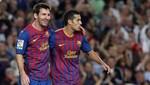 Barcelona venció por 2-0 al Racing de Santander por la liga española