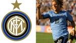 Forlán debuta hoy con camiseta del Inter