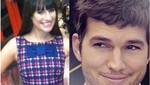 Ashton Kutcher rechazó invitación de Lea Michele