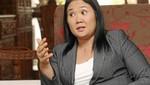 Keiko Fujimori: No participaremos 'activamente' en revocatoria a Villarán