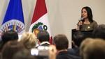 Nadine Heredia: 'Lo prometido es deuda, cayó 'Artemio''