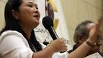 Keiko Fujimori felicitó captura de 'Artemio'