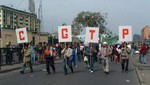 CGTP marcha hoy para respaldar a Humala