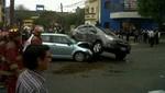 Terrible choque en San Isidro deja menor herido