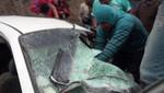 Cinco jugadores del León de Huanuco quedan heridos tras accidente en Matucana