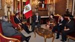 Ollanta Humala se reunió con vicepresidente de Ecuador