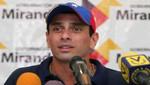 Venezuela: Henrique Capriles representará al MUD en elecciones presidenciales