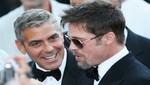 George Clooney y Brad Pitt compiten por ver quién gana el Oscar