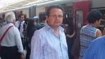 Ex Congresista Wilder Ruiz Silva recorrió las instalaciones del Tren Eléctrico