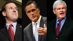 Gingrich y Santorum buscan desplazar a Romney en primarias de Alabama y Misisipi