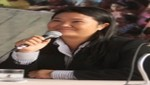 Keiko a Ollanta Humala: 'Por Alexis, ya ni lo veo correr'
