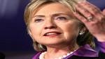 Hillary Clinton: 'Muamar Gadafi tiene los días contados'