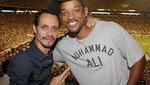 Marc Anthony y Will Smith siguen siendo amigos