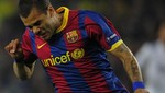 Dani Alves lamentó el empate ante Milan