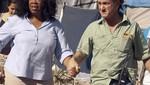 Oprah Winfrey acompaña a Sean Penn a Haití