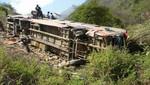 Ayacucho: Accidente de carretera deja un muerto y más de 40 heridos