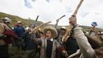 Autoridades de I Asamblea Nacional de los Pueblos del Perú y del Tahuantinsuyo se oponen al proyecto Conga