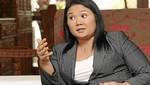 Keiko Fujimori: 'Se está 'antaurizando' la agenda'
