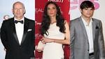 Bruce Willis está indignado con el comportamiento de Ashton Kutcher
